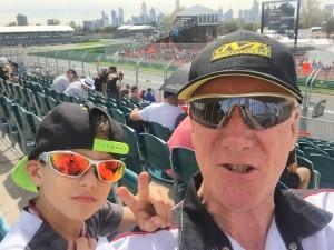 Grix Sunglasses at the Melbourne Grand Prix