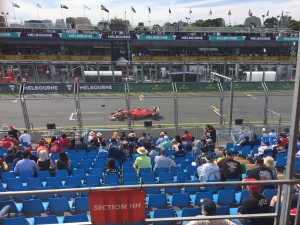 New Ferrari at the Melbourne Grand Prix