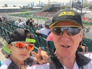 Grix Sunglasses at the Melbourne Grand Prix