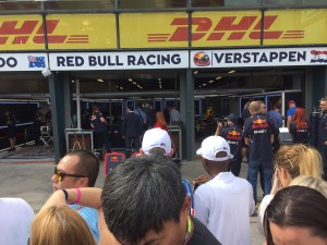 Grix Sunglasses visits the Red Bulls at the Melbourne Grand Prix
